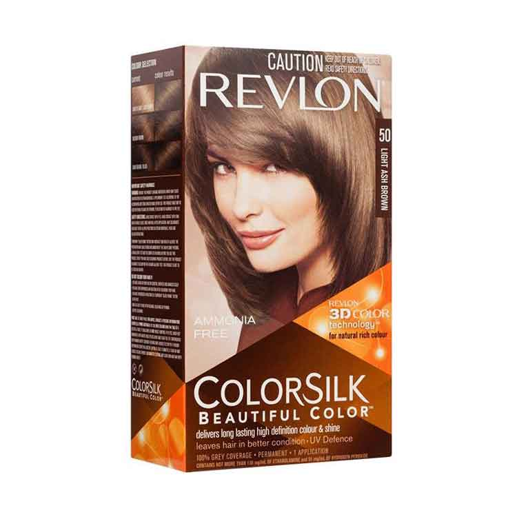 cat rambut golden brown