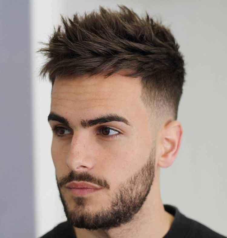 model rambut pria ikal panjang