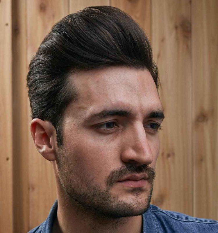 model rambut pria 40 an