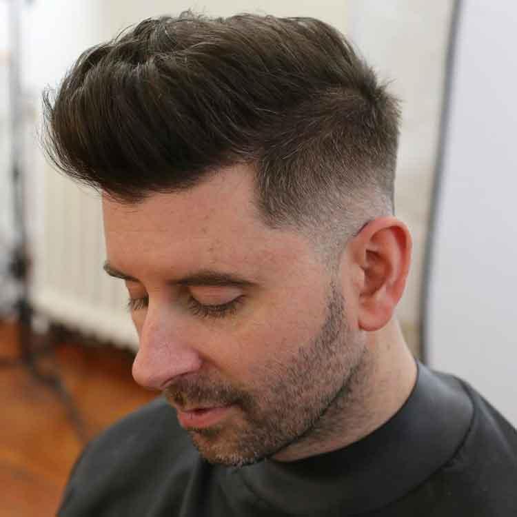 model rambut pria funky