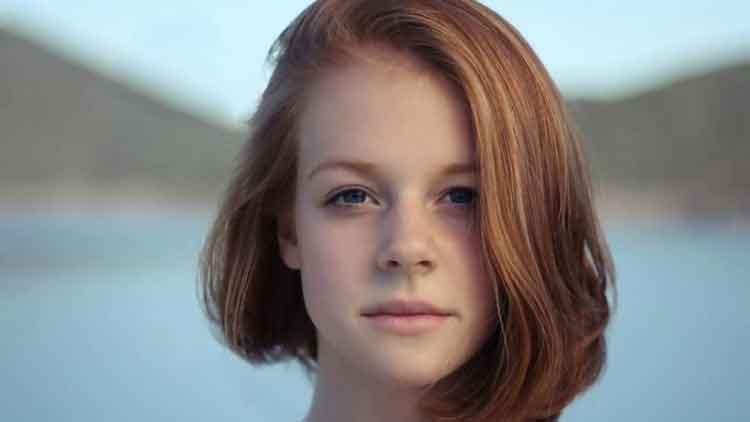 contoh model rambut smoothing