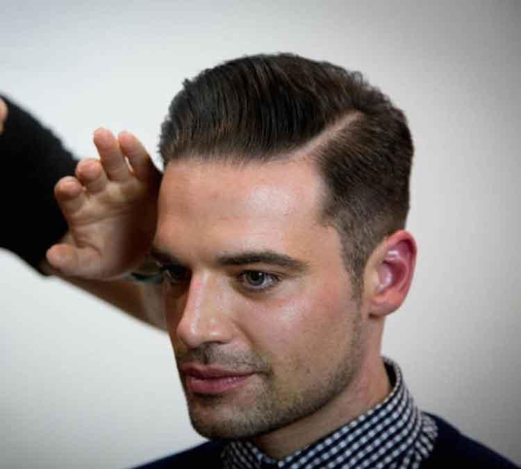 gaya rambut pria 2015 sesuai bentuk wajah oval