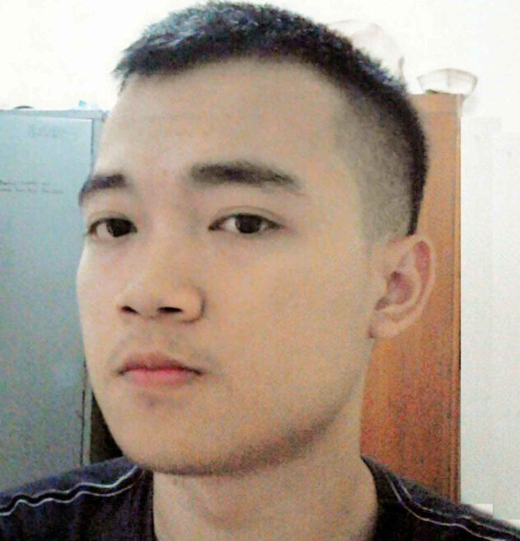 rambut pendek mengembang