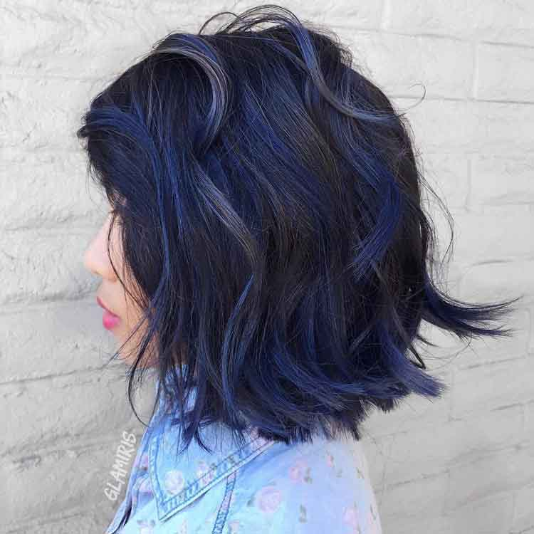 32 Model Warna Rambut Blue Black Cat Semir Pewarna Toning