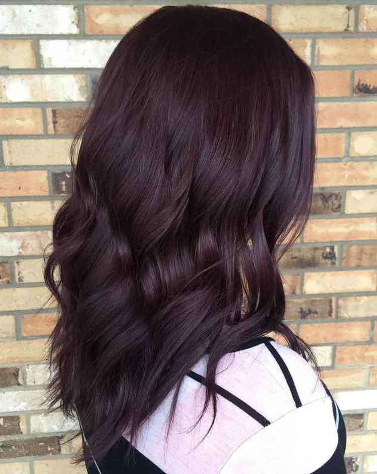 warna rambut coklat terbaru 2018