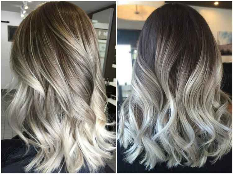 warna rambut simple