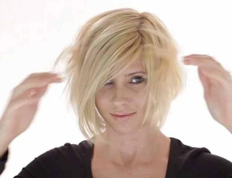 model rambut vanila swirl