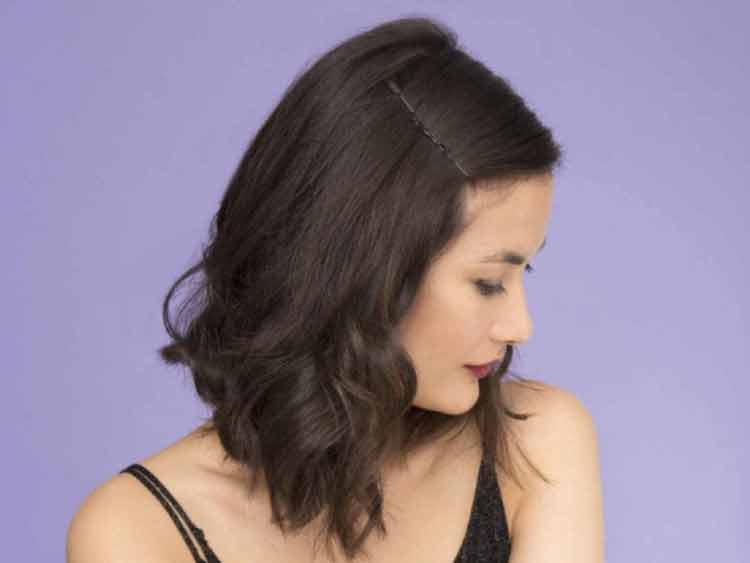 model rambut keriting korea