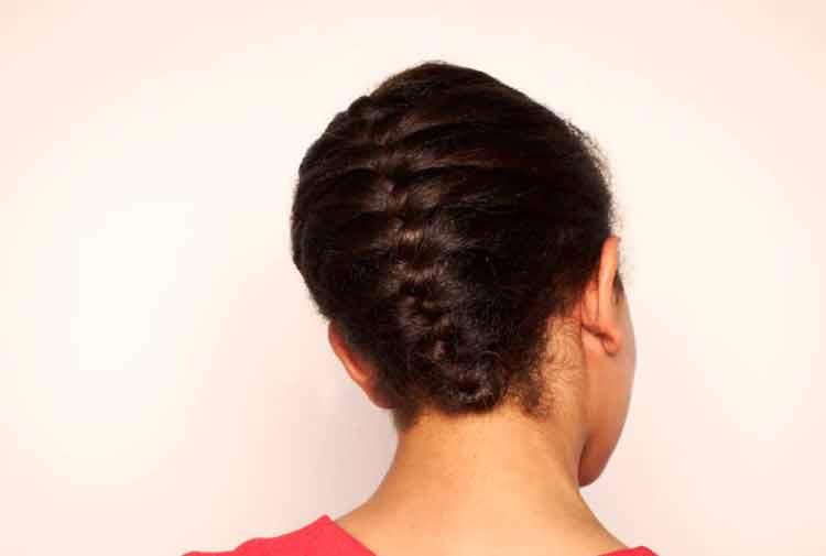 model rambut kepang satu