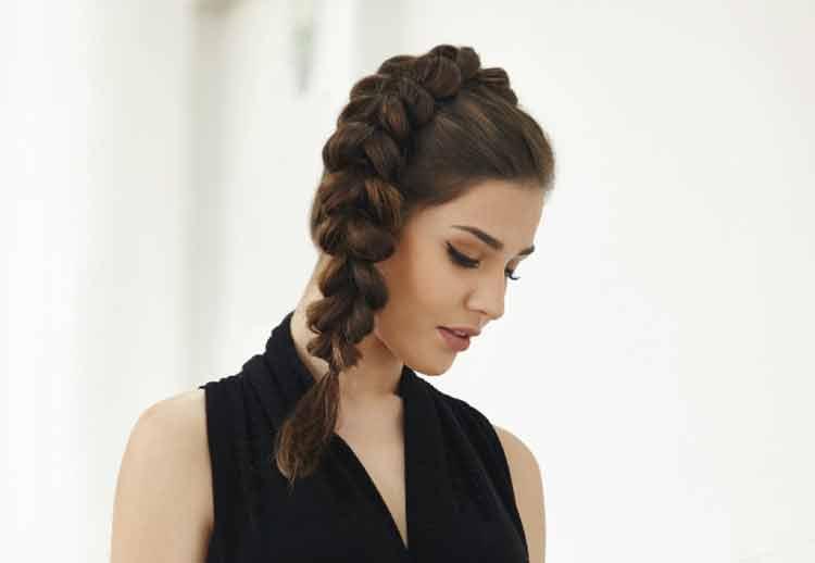 model kepang rambut untuk rambut pendek