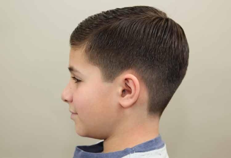 gambar model rambut anak laki