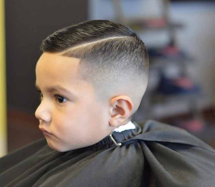 model rambut anak laki gondrong