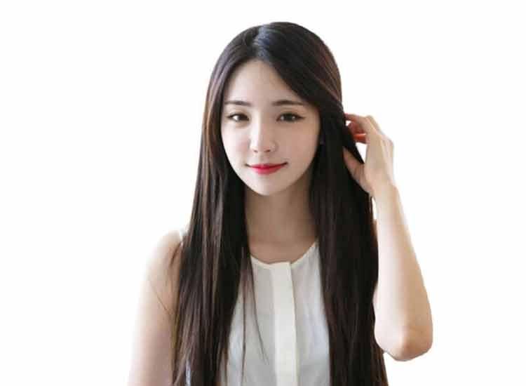 model rambut panjang untuk wajah oval