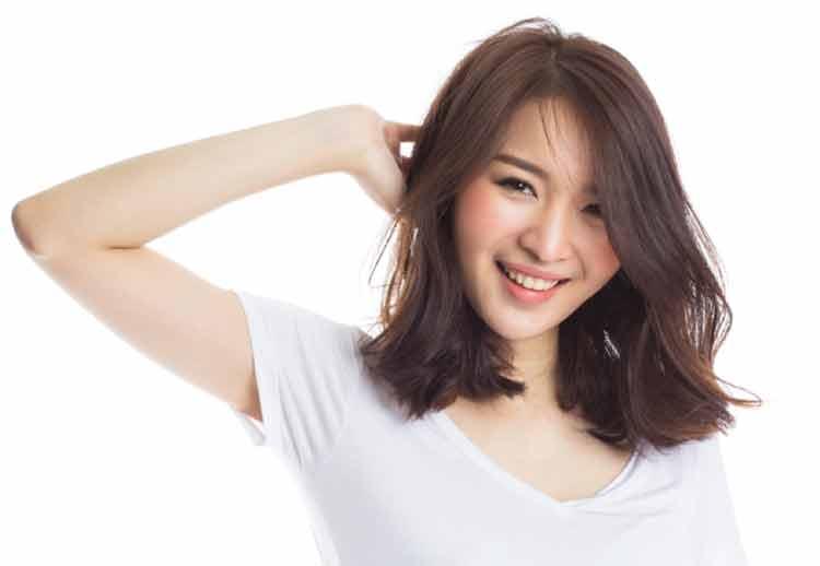 model rambut sebahu untuk rambut ikal