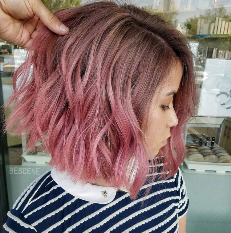 Bright Blend Pink Ombre